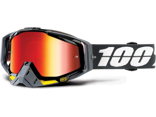 100% Racecraft Goggles Grå/rød